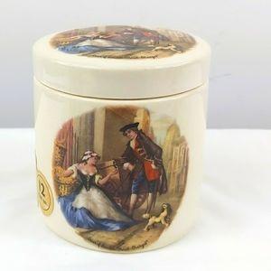 Ceramic sandland ware oxford marmalade jar